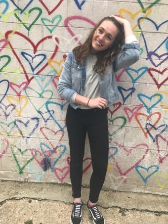 Absolutely Lauren - Washington DC, Heart Mural