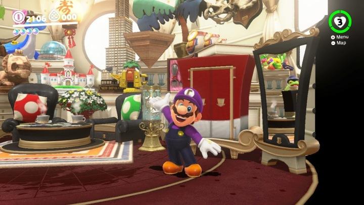Super Mario Odyssey Games of 2017